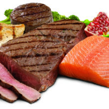 Choosing healthy lean proteins leads to a healthy life.
